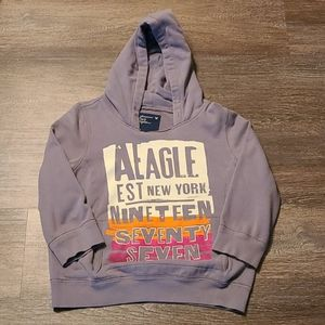 Cute and comfy AE hoodie. Size Large.